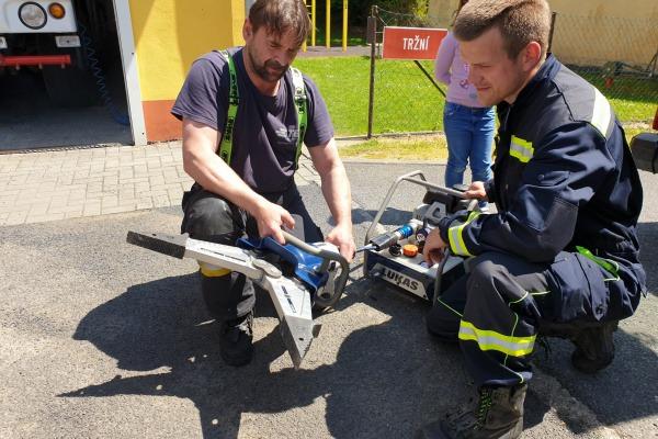 Projektové dny - hasiči