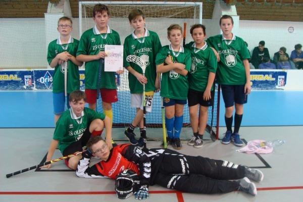 Krajské finále ve florbalu - mladší žáci - 26.11. 209 Slavkov u Brno