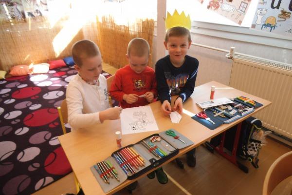 Děti v I.třídě ZŠ - březen 2017